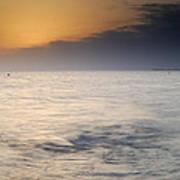 The Sea Before The Rain Art Print