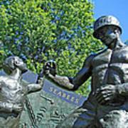 The Seabees At Arlington Art Print