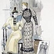 The Season, Fashion Plate For The Art Print