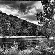 The Secluded Bald Mountain Pond Art Print