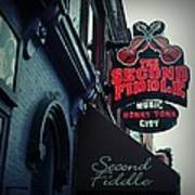 The Second Fiddle Art Print