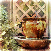 The Secret Fountain Art Print
