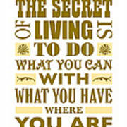 The Secret Art Print