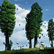 The Seeds Art Print by Stephane Poulin