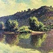 The Seine At Port-villez, 1883 Art Print