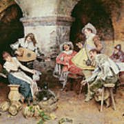 The Serenade Art Print