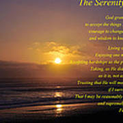 The Serenity Prayer Art Print