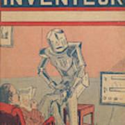 The Servant Of The Future -- A Robotic Art Print