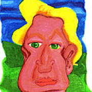 The Severely Svelte Sven Severin The 7th Art Print by Del Gaizo