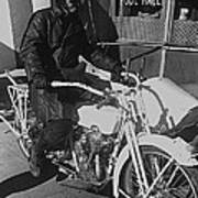The Shadow Of The Eagle Homage 1932 Jack Wilson Stuntman Globe Arizona 1969 Art Print