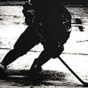 The Shadows Of Hockey Art Print