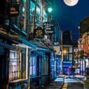 The Shambles Street In York U.k Hdr Art Print