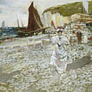 The Shingle Beach Art Print by James Kay