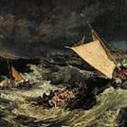 The Shipwreck Art Print