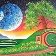 The Shires Moons  Art Print