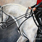 The Show Horse Stride Art Print