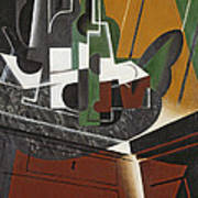 The Sideboard, 1917 Oil On Plywood Art Print