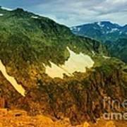 The Silent Mountains Art Print