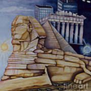 The Silent Witness Of Civilizations Past And Those Yet To Be Born Art Print