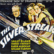 The Silver Streak, Us Poster Art Art Print