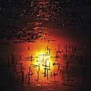The Sinking Sun Art Print