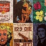 The Six Warhol's Art Print