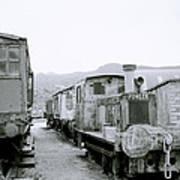 The Steam Train Art Print