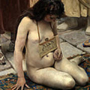 A Slave For Sale Art Print