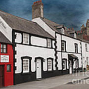 The Smallest House In Great Britain Art Print