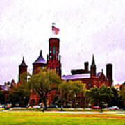 The Smithsonian Art Print by Bill Cannon