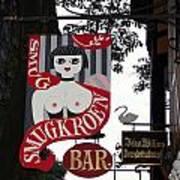 The Smugkroen Bar Art Print