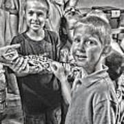 'the Snake' Art Print