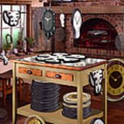 The Soft Clock Shop 2 Art Print