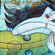 The Song Of The Mermaid Art Print