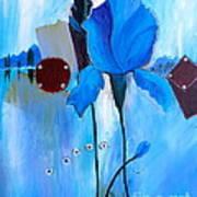 The Sound Of Blue Art Print
