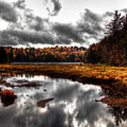 The South End Of Cary Lake Art Print