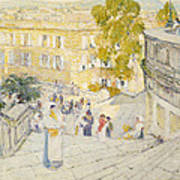 The Spanish Steps Of Rome Art Print