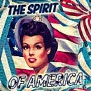 The Spirit Of America Art Print