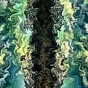 The Split By Rafi Talby Art Print