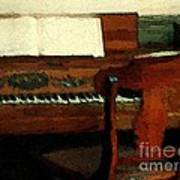 The Square Piano Art Print