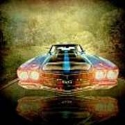 The Ss Car Art Print