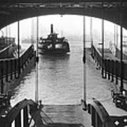 The Staten Island Ferry Art Print