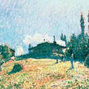 The Station At Sevres Art Print