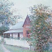 The Stationmaster's Cottage Art Print