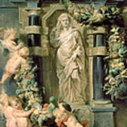 The Statue Of Ceres Art Print