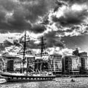 The Stavros N Niarchos London Art Print