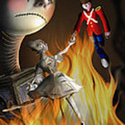 The Steadfast Tin Soldier ...the Envy... Art Print