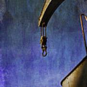 The Steam Crane Art Print