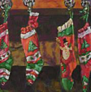 The Stockings Art Print