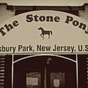 The Stone Pony Vintage Asbury Park New Jersey Art Print